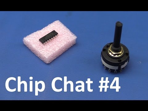 Chip Chat #4 CD4051 Analog Switch / Multiplexer / Demultiplexer - Ec-Projects