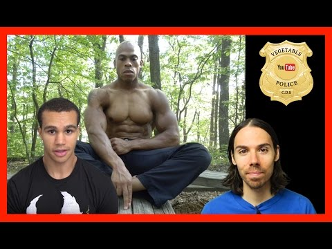 Vegan Gains FAILS to debunk Dr Amen Ra.  Intermittent fasting for the WIN!