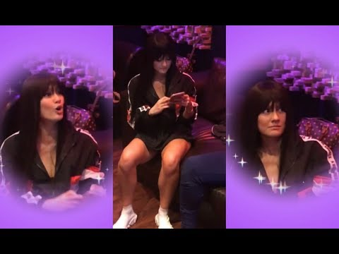AGNEZ MO wearing a wig in the studio 😍