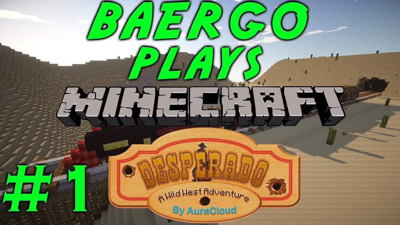 Minecraft Adventures Desperado Runaway Train YouTube - Minecraft desperado hauser