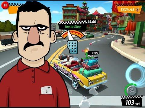 Crazy Taxi City Rush İncelemesi - Teknolojiye Atarlanan Adam
