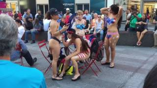 Body paints in time square NYC