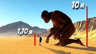 FINAL EVIDENCE OF THE EXISTENCE OF GIANTS ON EARTH