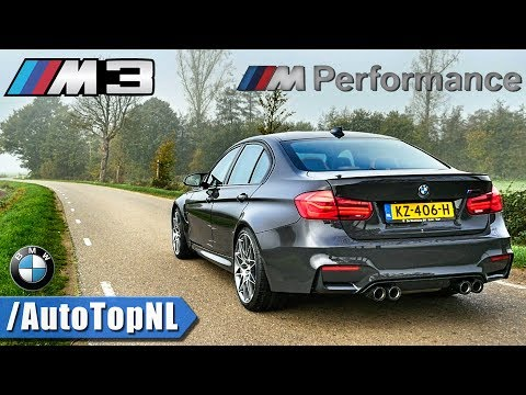 BMW M3 F80 Competition M PERFORMANCE Exhaust LOUD! SOUND By AutoTopNL