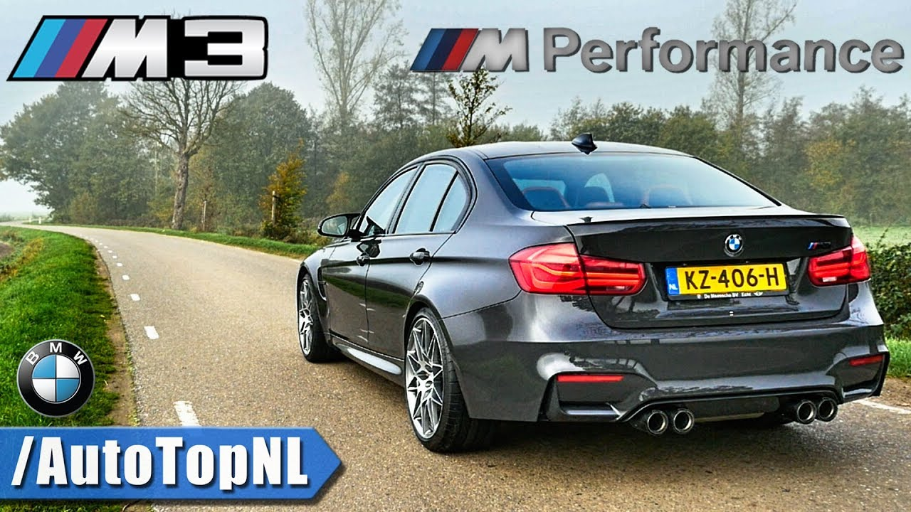 bmw m3 f80 competition m performance exhaust loud sound by autotopnl