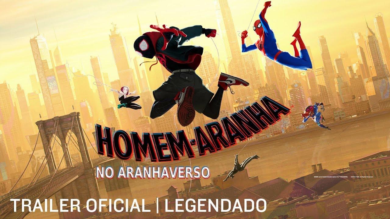 Homem Aranha No Aranhaverso Trailer 2 Leg 10 De Janeiro Nos Cinemas