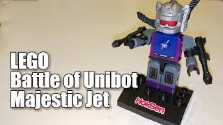 LEGO ROBOT Battle of Unibot Majestic Jet (Unboxing Toys bento HOKBEN
