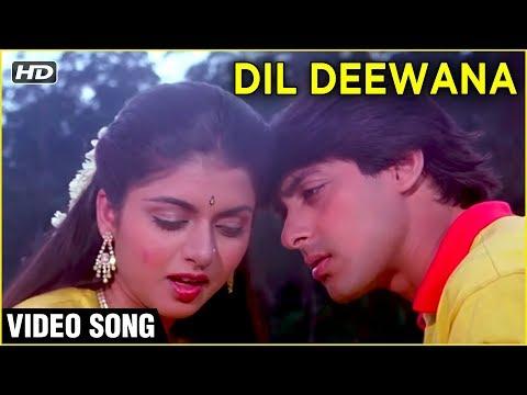 Dil Deewana -  Maine Pyar Kiya | Lata Mangeshkar Hit Songs | Romantic Love Songs