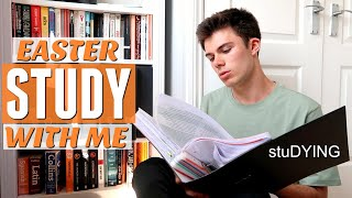 how i'm studying for my exams (easter study with me + revision tips)