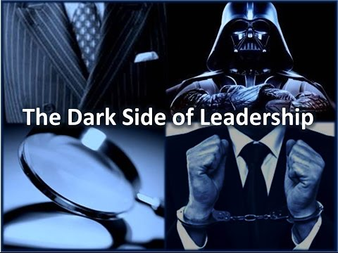 A Multicase Study of the Dark Side of Leadership (Dissertation Defense)