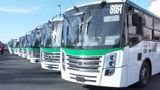 Entrega gobernadora camiones en Cajeme