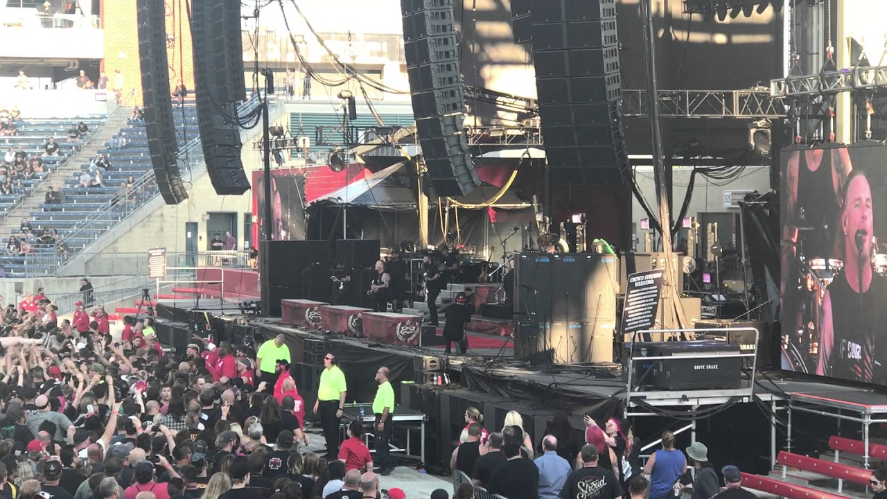 stone sour song 3 live chicago open air 2017 youtube