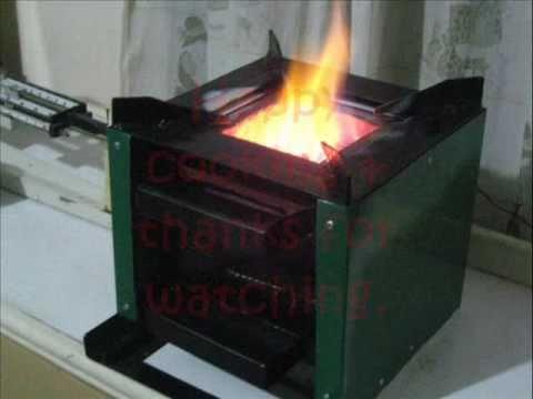 Multi Burn Biomass Cooking Stove Wood Pellet Rocket Sto