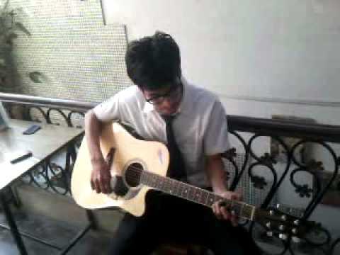 Gunaah (unplugged) guitar by abhijit