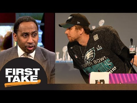 Stephen A. Smith says Eagles should trade Nick Foles | First Take | ESPN