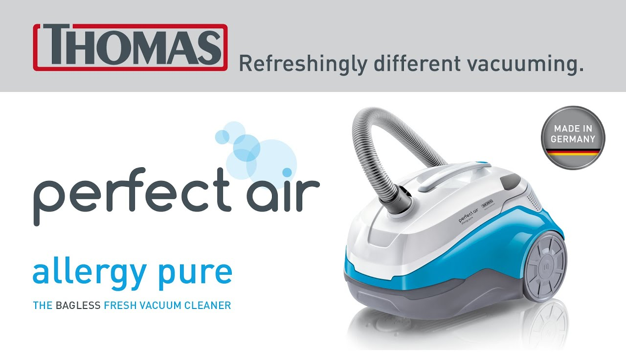 b784b9ea01f The vacuum cleaner for people with allergies: THOMAS perfect air allergy pur