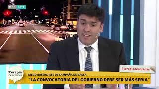 Sin consenso: Diego Bossio criticó la convocatoria y le dio consejos a Macri