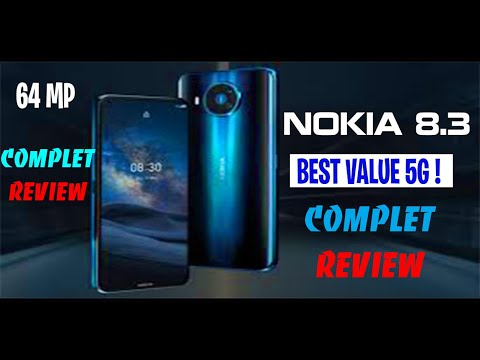 nokia 8.3 5g complet review || NOKIA 8.3 5G UNBOXING BY AMAZON GF || NOKIA 8.3 5G REVIEW IN ENGLISH