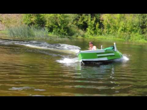 Лодка Казанка ПЛМ Вихрь 30 на реке Оскол