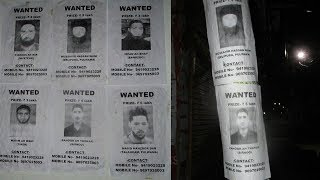 Excelsior News | Posters of wanted militants pasted in Pulwama town...