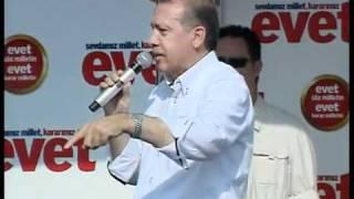 Recep Tayyip Erdoğan Ak Parti Referandum da EVET Kocaeli Mitingi 1/3