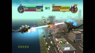 Godzilla: Save The Earth - Godzilla 90's VS. Spacegodzilla (HARD)