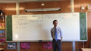 Equations & Inequalities (2 of 2: How are Inequalities different?)