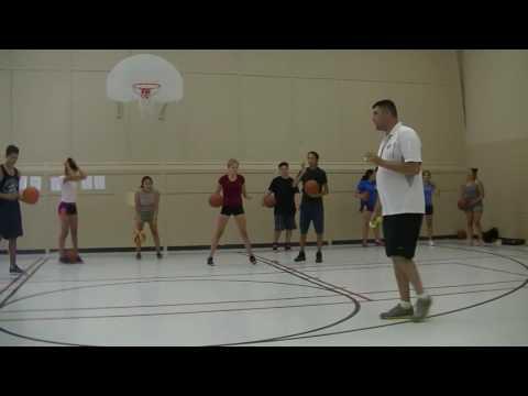 Basketball Drills w/ Gerry Benoit, 2016 ASWCO-N7 Multi Sport & Cultural Camp Sagamok
