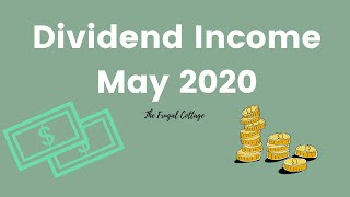 Dividend Income May 2020 | Passive Income | Dividend Investing UK