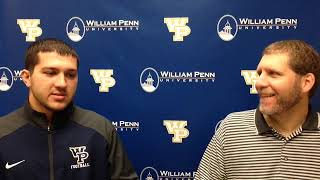 William Penn Athletics Nick Jackson Interview 9-24-18