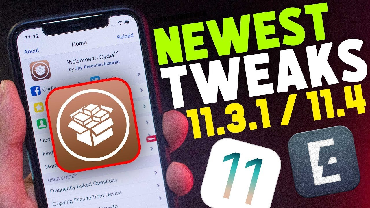TOP NEWEST Best Cydia Tweaks iOS 11 3 1 & 11 4 Jailbreak (Electra
