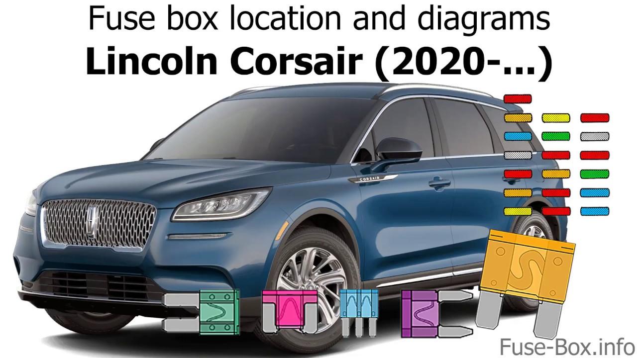 Fuse Box Location And Diagrams  Lincoln Corsair  2020-