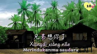 #Lagu mandarin terjemahan                          Xiong di xiang ni le/兄弟想你了 [Merindukanmu saudara]