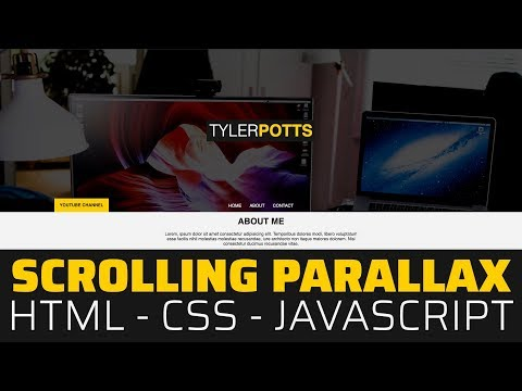 Scrolling Parallax in HTML, CSS & JavaScript | Tutorial 2019 thumbnail