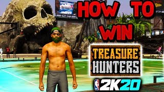 i WON THE FIRST TREASURE HUNTER EVENT on NBA 2K20 | HOW to FIND TREASURE MAP