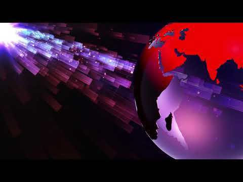 FREE Intro Templates - NO Text - World NEWS Graphics Background.