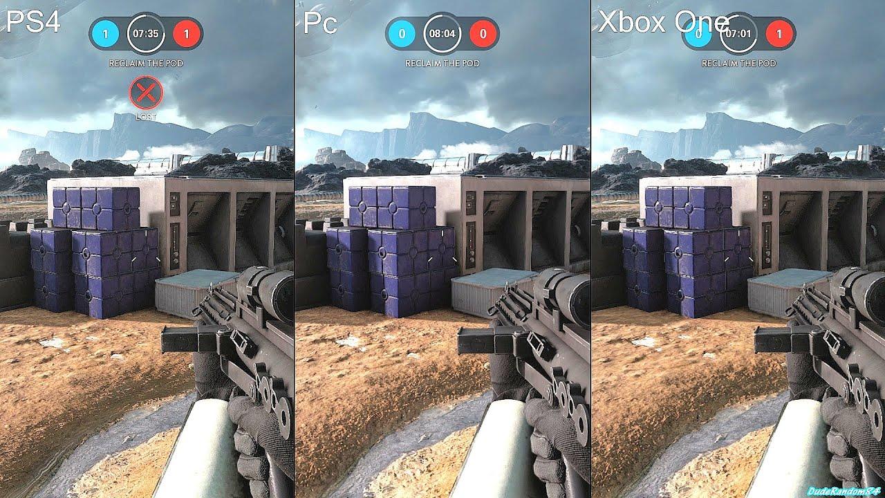 star wars battlefront beta pc vs ps4 vs xbox one graphics. Black Bedroom Furniture Sets. Home Design Ideas