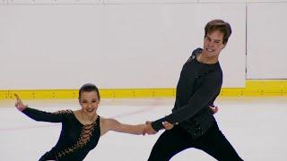 Маргарита Свистунова Дмитрий Студеникин Ритм танец Танцы на льду Кошице Гран при по фигурному