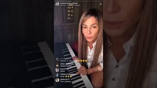 Катя Колисниченко без макияжа, прямой эфир Instagram 10-01-2018