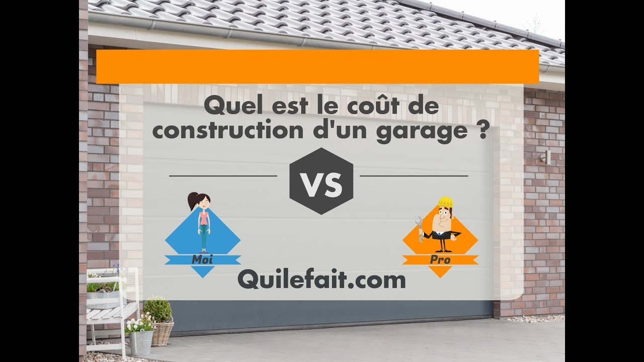 Prix De La Construction D Un Garage Par Moi Ou Un Pro Youtube