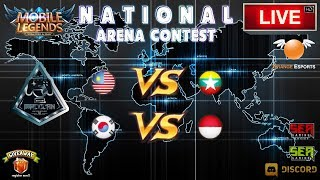 [Mobile Legends] National Arena Contest 🔘 LIVE | Malaysia