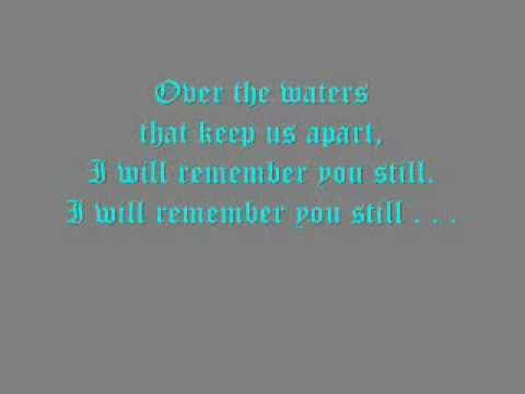 """""""I Will Remember You Still"""" by Aeone [""""The Mists of Avalon"""" Theme (with Lyrics)]"""