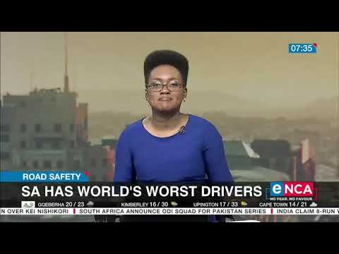 South Africa has world's worst drivers