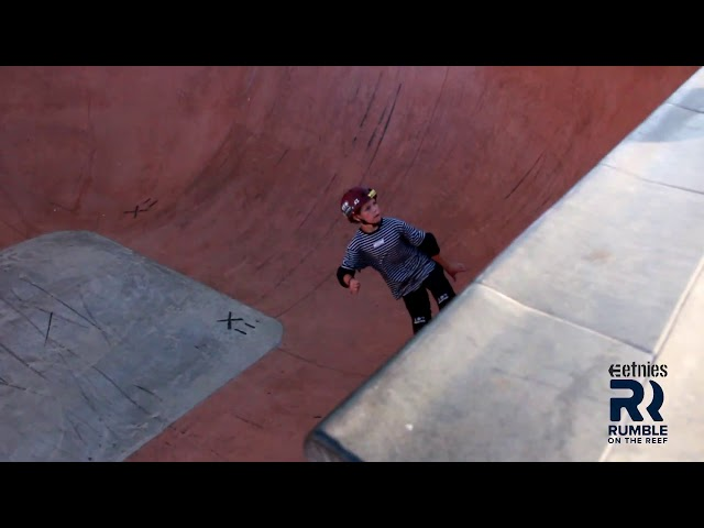 Lukas Byers Rumble on the Reef Bowl 2019