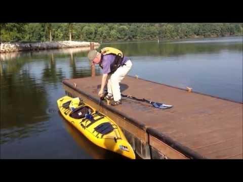 Kayak fishing basics paddling skills for kayak anglers for Fissot fishing kayak for sale