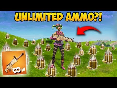 UNLIMITED AMMO BUG?! - Fortnite Funny Fails and WTF Moments! #202 (Daily Moments) thumbnail