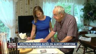 Spectrum raising rates on almost everyone; in some cases customers say they are shocked