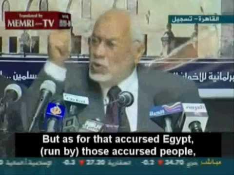 The 'Muslim Brotherhood' Organization of Egypt Calls For Waging Jihad!