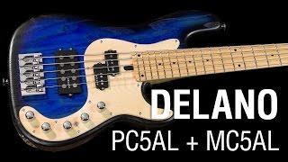 Delano PC5AL + MC5AL & Noll 3-Band electronics!
