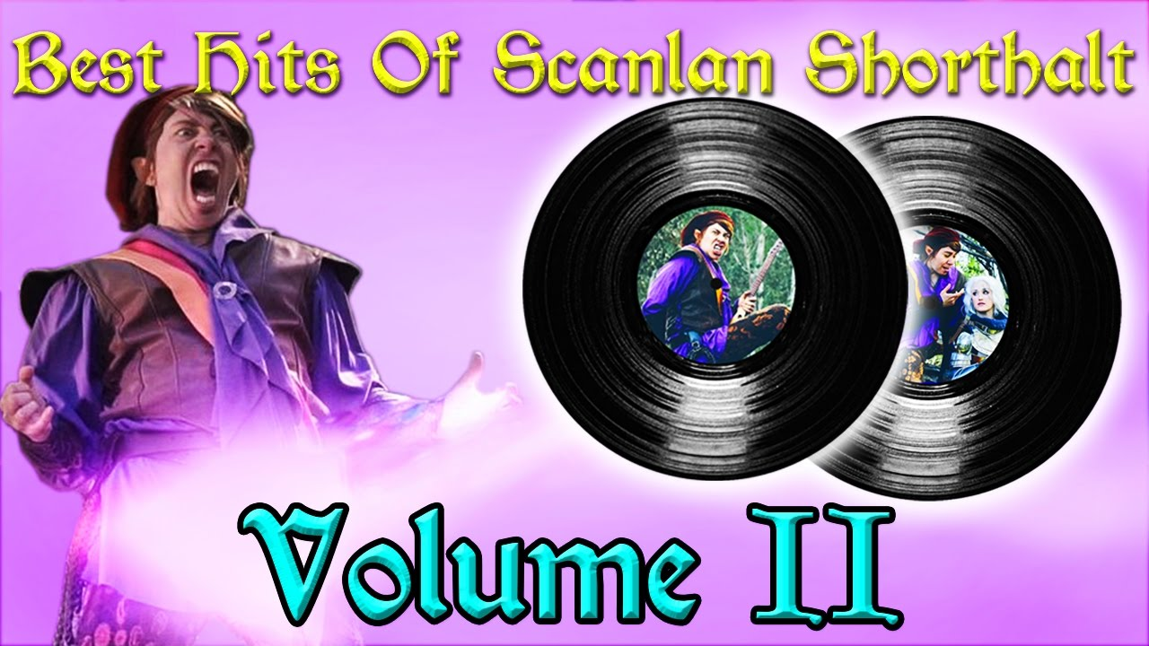 The Best Hits of Scanlan Shorthalt | Volume 2 | Available Today From  Gilmore's Glorious Goods!
